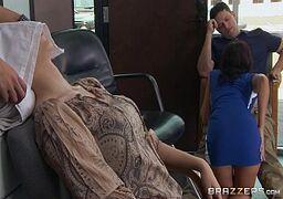 Sexo no salão de beleza no filme de xvideo porno