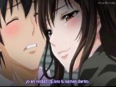 Hentai com namorada novinha dando a xoxota