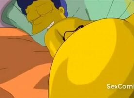 Simpsons marge e homer fodendo gostoso